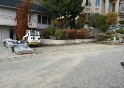 New Driveway During